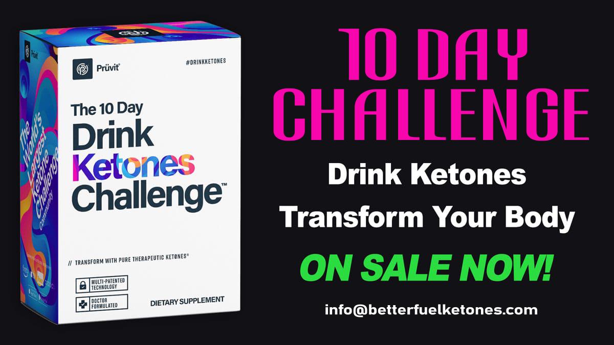 10 Day Challenge Ketones Drink